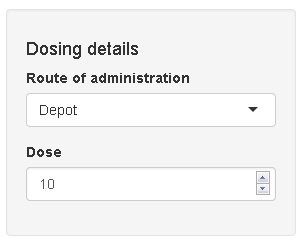 Creating a simple pharmacometric Shiny application with